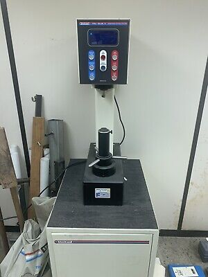 United True Blue Ii Hardness Tester W Cabinet Cover And Extras