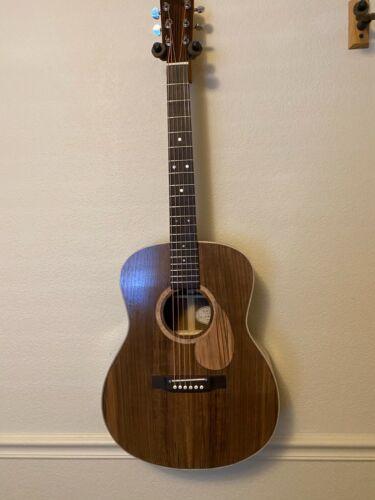 TLH Walnut OM Acoustic Guitar - Luthier handmade