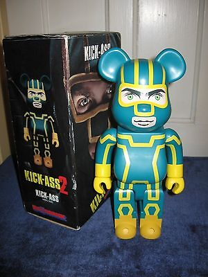 Kick Ass 400% KICKASS 2 MEDICOM BE@RBRICK BEARBRICK figure by MEDICOM NIB