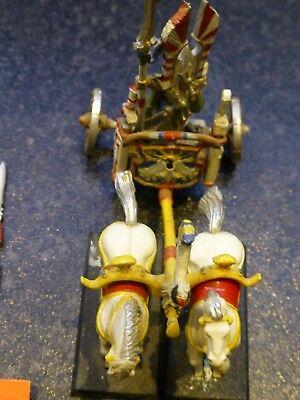 Warhammer, GW, HIGH ELF Mighty Tiranoc Battle Chariot 1993 (Metal & Plastic)