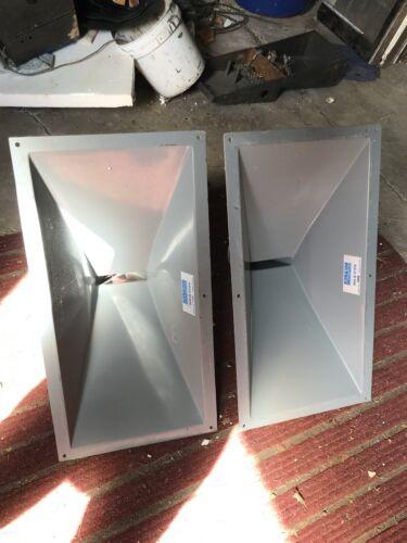 Altec MR2 5124 Horns Pair ( for 288g 288h 288k drivers 515 speakers )