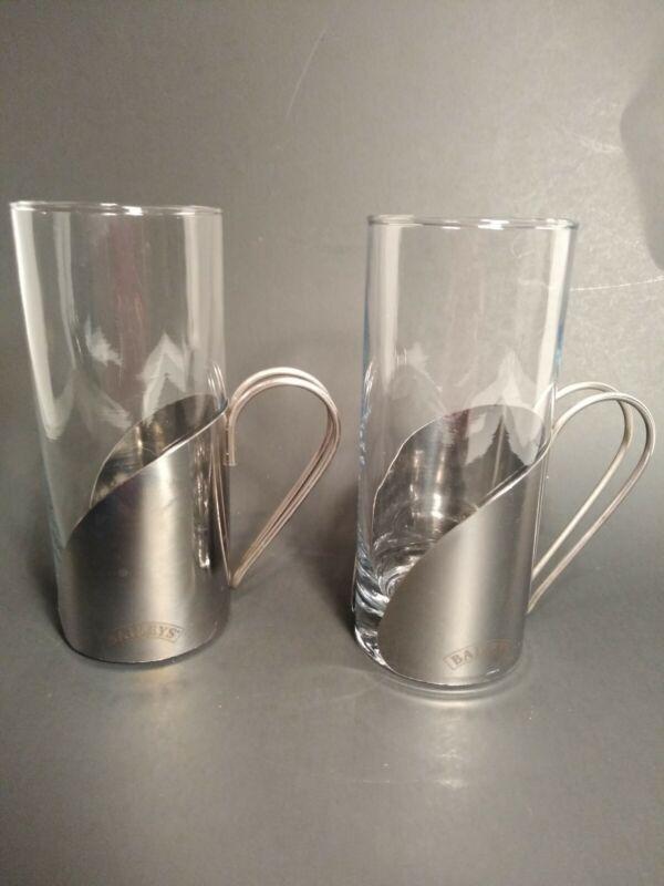 2- Baileys Irish Tea Glasses
