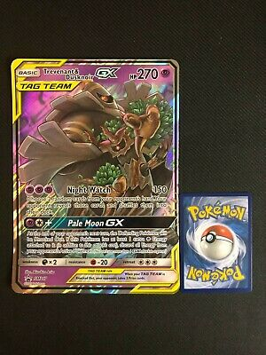 Pokemon Ultra Rare Holo Foil JUMBO Trevenant /& Dusknoir GX Card SM217 PROMO