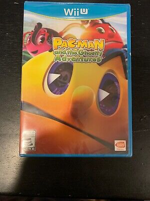 Pac-Man and the Ghostly Adventures - Nintendo Wii U Brand New
