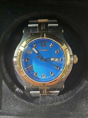 Mens Renato T-Rex Gen II Swiss ETA 2824 Automatic 50mm Two Tone Blue Dial Watch