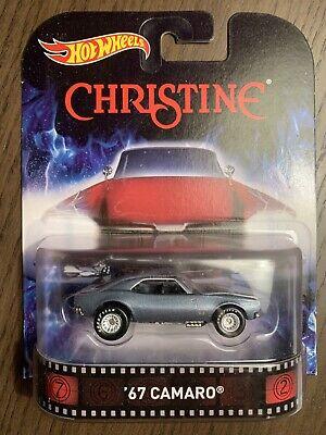 Hot Wheels 67 Camaro Movie Christine Entertainment Series Real Riders
