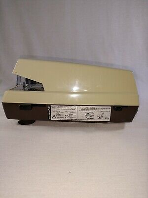 Vintage Panasonic Commercial Electric Stapler-as-300- Tested Working