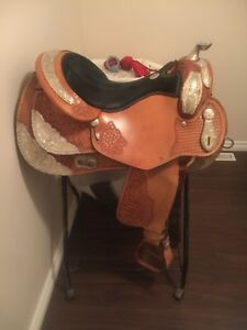 Rocking R Reining Saddle