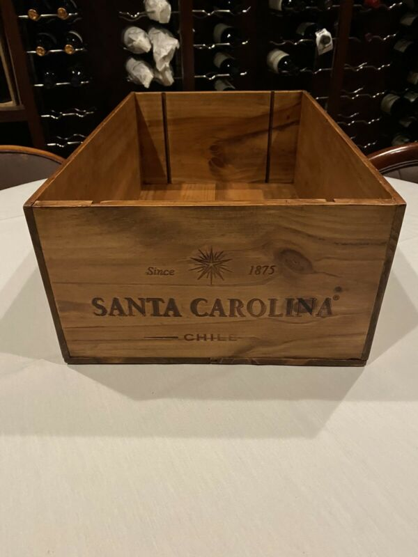Vintage Chilean Wine Crate