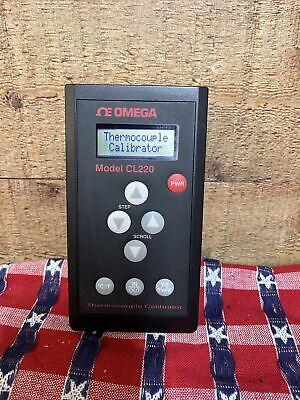 Omega Thermocouple Calibrator Model Cl-220 Cl220
