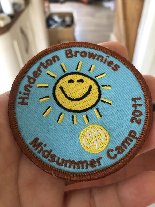 Girl Guiding Hinderton Division Brownie Mid Summer Camp 2011 Woven Badge