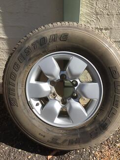 Hilux wheel