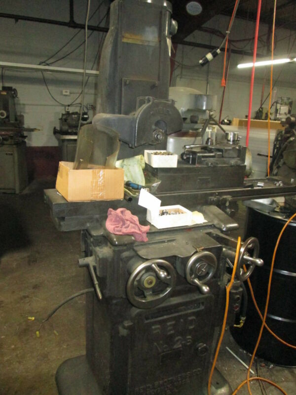 """Reid No.2-B 6""""X 18"""" Reciprocating Grinder W/B&S Magnetic Chuck & Pope Spindle"""