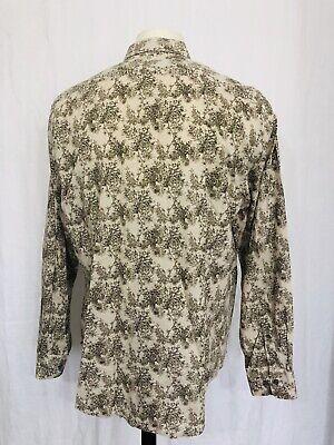 Matinique Toile De Joy Dress Shirt Mens XXL Brown Crosbie