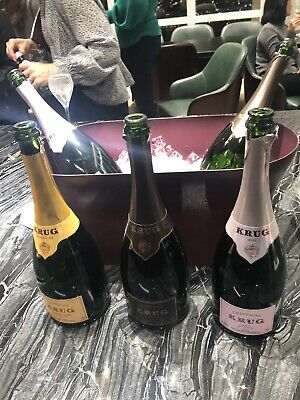 Krug Champagne Collection Empty Bottle Dom Perignon Moet Ace Spades