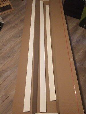 Neu Orac Decor DX157-2300 Axxent Kunststoff-Sockelleisten, 2x starr, 1x flexibel
