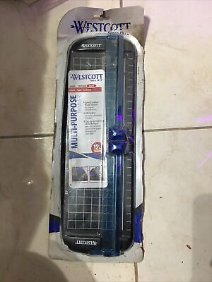 Westcott Multi-purpose 12 Inch Light Trimmer. Nib. Photos Papers Card Stock