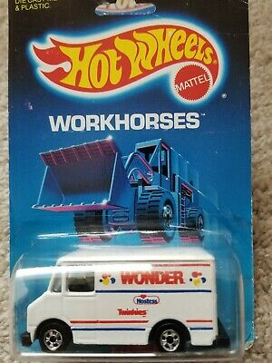 Hot Wheels Workhorses Wonder Bread Delivery Truck Mattel 1988 #52 of 76