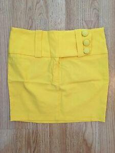 Jupe jaune SIMONS neuve