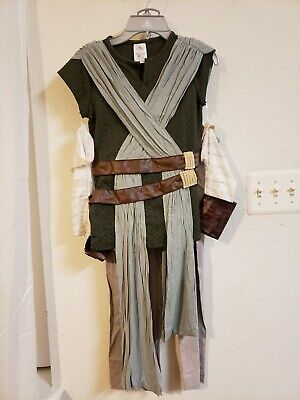 DISNEY Star Wars Rey Costume for Kids - The Last Jedi size 9/10 - War Costumes For Kids