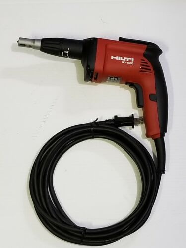 "HILTI SD4500 1/4"" Wood/Drywall Screwdriver USED."