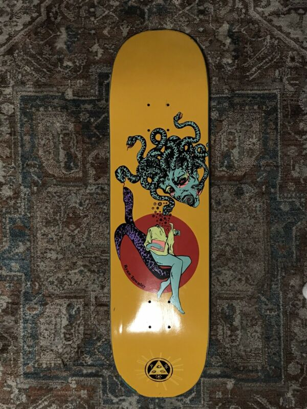 "Welcome Ryan Townley Gorgon On Enenra 8.5"" Skateboard Deck"
