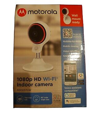 Motorola FOCUS71-W 1080p HD WiFi Indoor Camera