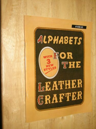 Alphabets for the Leather Crafter #61936-00 Tandy