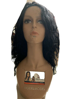 "Female Plastic Mannequin Head Model Wig Glasses Hat Display Stand 18""Brown Color"