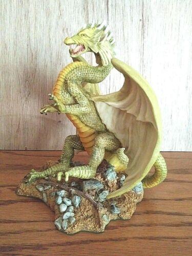 "Enchantica EN2070 GORGOYLE Spring Dragon Large 7"" Sculpture Ltd.Ed.Mint Figurine"