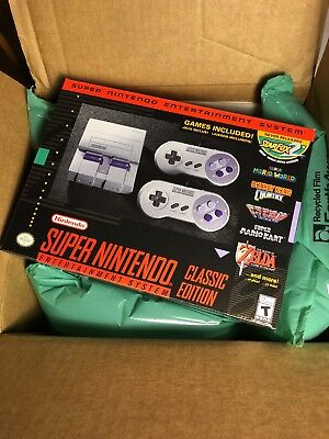 SNES Legendary Edition Mini Super Nintendo Entertainment System Brand New