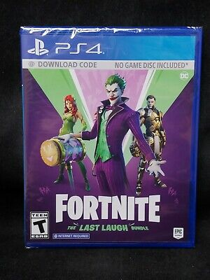 Fortnite: The Last Laugh Bundle (No Disc Version) (Playstation 4/PS4) BRAND NEW