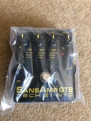 Tech 21 SansAmp GT2 Overdrive Pedal
