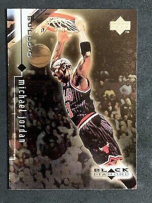 1999-00 Upper Deck Black Diamond Michael Jordan #11 Chicago Bulls NM-MT