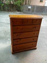 Solid timber 7 drawers tallboy can deliver Parramatta Parramatta Area Preview