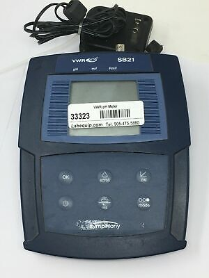 Vwr Scientific Products Sb21 Symphony Ph Meter