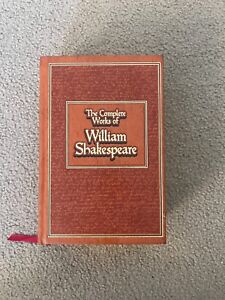 The complete works of William Shakespeare amazing condition