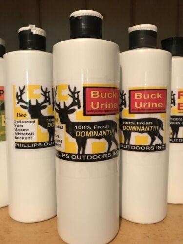 Dominant Buck Urine - 18oz. Bottle of Whitetail Dominate Buck Urine/ Deer Lure