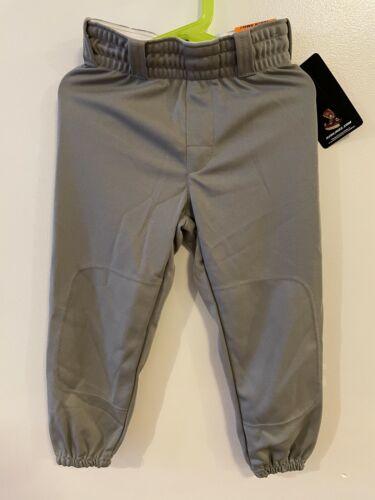 Rawlings Youth Gray Baseball Softball Pants Small S New