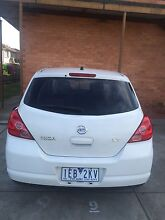 2006 Nissan Tiida White Hatchback  ( urgent sale ) Ferntree Gully Knox Area Preview