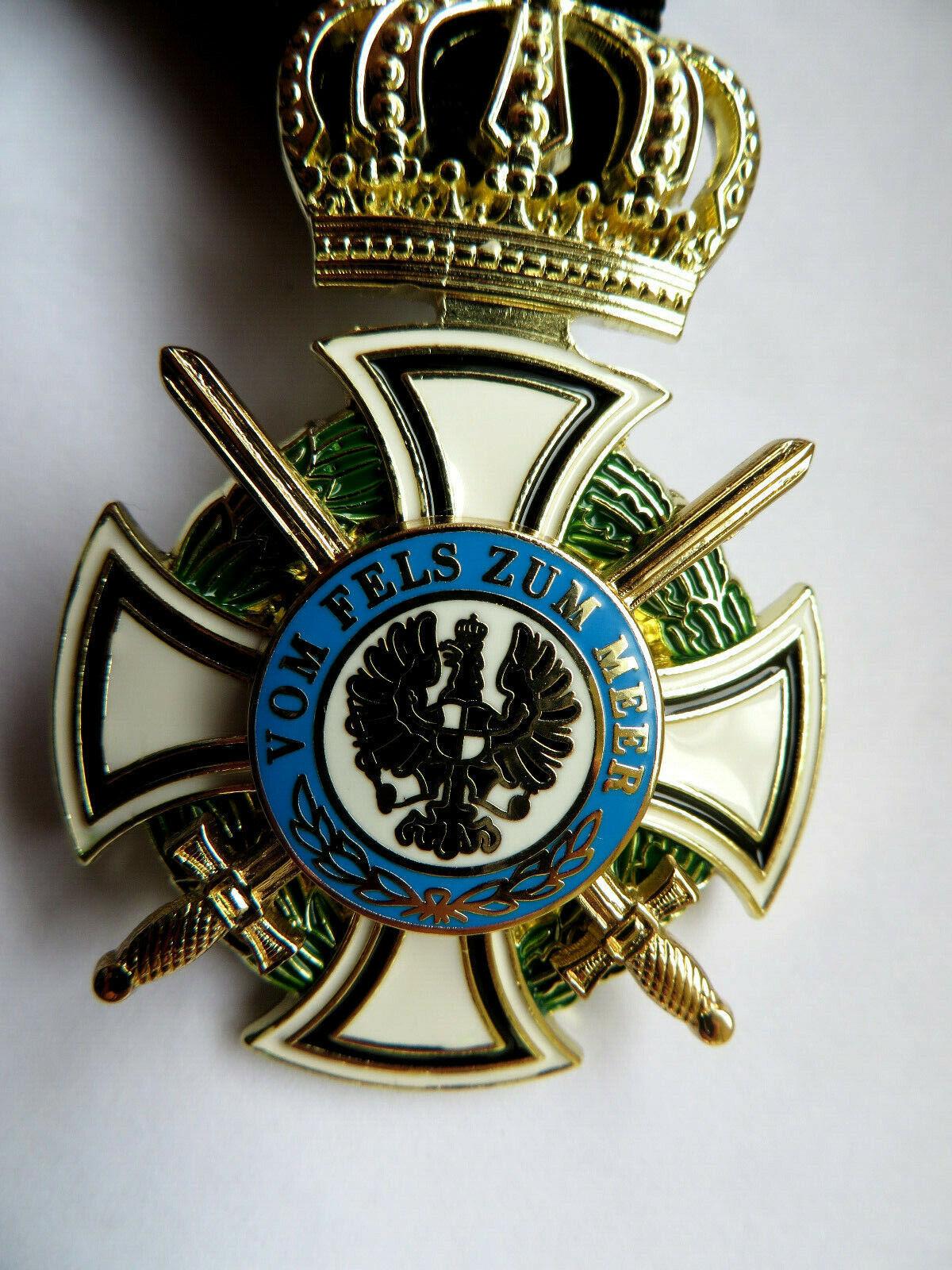 Orden Militärorden Deutsches Kreuz Vom Fels zum Meer SUPER Qualität