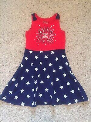 Little Girls Size 7 4th Of July Dress