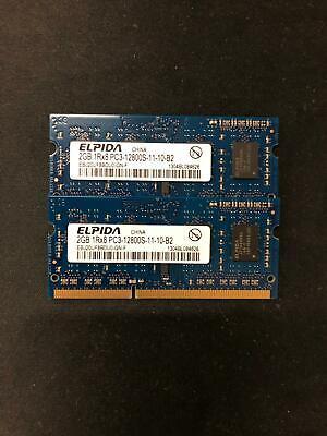 667 Mhz Sodimm Memory - 4GB (2x2GB) PC3-12800s DDR3-667MHz/PC2-6400 Laptop Memory SODIMM Intel 200pin US