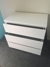 Ikea chest-drawer white. Point Cook Wyndham Area Preview