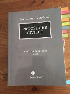 Procédure civile 1