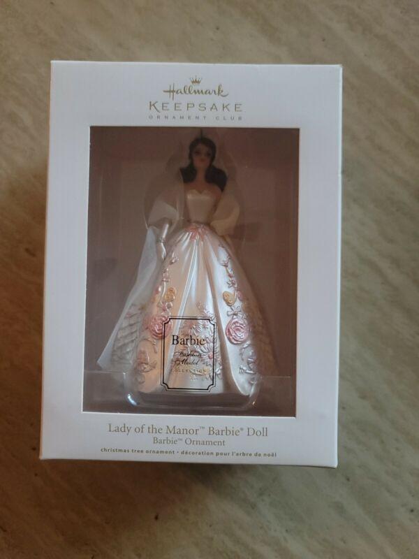 Lady of the Manor Barbie Doll 2011 Hallmark Keepsake Ornament Club Christmas