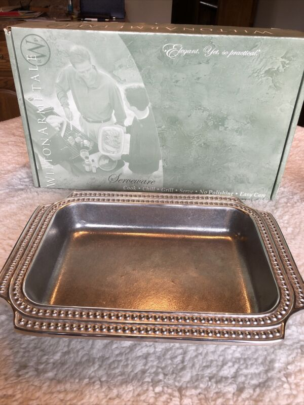 Wilton Armetale Baking/Serving Tray