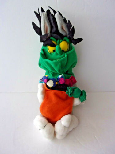 VINTAGE 1999 BUGS BUNNY TRICK OR TREAT HALLOWEEN COSTUME PLUSH MINT CONDITION