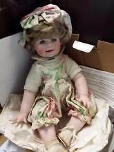 CHELSEA ~ PORCELAIN DOLL THE HAMILTON COLLECTION Moorina Caboolture Area Preview