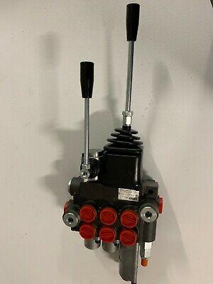 Hydraulic Loader Valve 3 Spool Wjoystick 10 Gpm Wfloat Spool